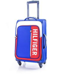 Tommy Hilfiger Winston Softside Expandable Spinner Luggage - Blue