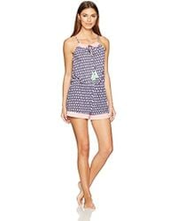 Juicy Couture - Black Label Strappy Romper, - Lyst