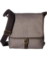 Fossil - Buckner Leather Trim City Bag - Lyst