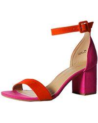07b997db6aa Lyst - CL By Chinese Laundry Jody Block Heel Dress Sandal in Pink