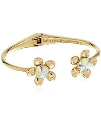 Kate Spade - Open Hinge Cuff Bracelet - Lyst