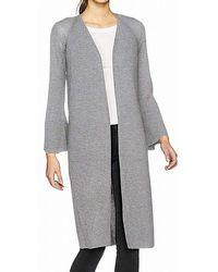 Calvin Klein Plus Size Flecked Lace Up Sweater - Black