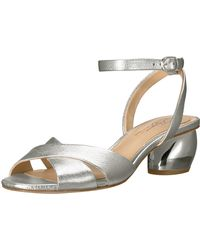 Imagine Vince Camuto Leven2 Heeled Sandal - Metallic