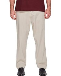 53f66294f5a7dc Dockers Workday Smart 360 Flex Straight Fit Khaki Stretch Pants in Natural  for Men - Lyst