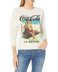 Lucky Brand Coca-cola Crew Neck Sweatshirt - Multicolor