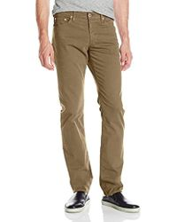 AG Jeans The Graduate Tailored 'sud' Pant - Natural