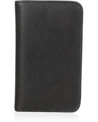 Buxton Hudson Pik-me-up Snap Card Case - Black