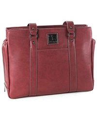 Kenneth Cole Reaction - Hit A Triple Pebbled Faux Leather Triple  Compartment 15