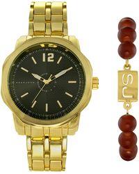 Sean John Kenneth Cole New York Male Quartz Watch - Black