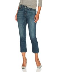 NYDJ Womens Plus Size Marilyn Straight Ankle with Seastar Embroidery