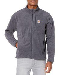 Carhartt Dalton Full Zip Fleece - Gray