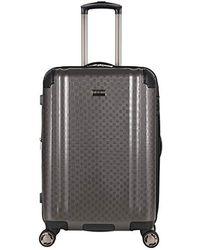 "Ben Sherman 28"" Pap Expandable 8-wheel Luggage Upright - Gray"