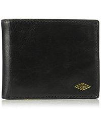 Fossil - Rfid Flip Id Bifold Wallet - Lyst