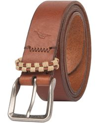 Tommy Bahama Leather Belt - Brown