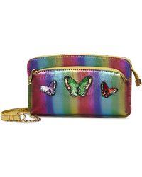 Betsey Johnson Butterfly Crossbody - Multicolor