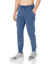 Peak Velocity French Terry Jogger Athletic-fit Pant - Blue