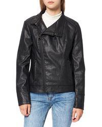 Desigual Womens Coat Dante Blouson Long Sleeve Coat - Black