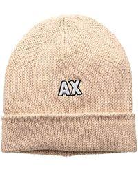 f8d24164e44 Lyst - Armani Exchange Hat Women in Pink