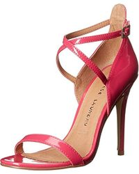 8b8f5591ce7 Lyst - Chinese Laundry Lavelle Patent Strappy Sandal in Pink