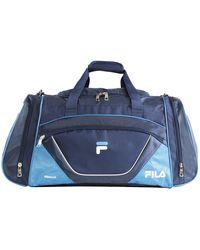 Fila Acer Large Sport Duffel Bag - Blue