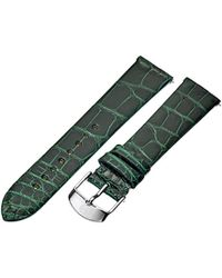 Michele - Ms18an010300 Analog Display Green Watch Band - Lyst