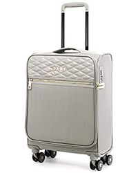 """DKNY 22"""" Expandable Softside Spinner Luggage, Clay - Multicolor"""