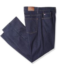 Tommy Hilfiger Big And Tall Jeans Straight Fit - Blue