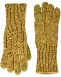 Pendleton Cable Gloves - Yellow