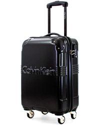 Calvin Klein Ck Delancey Hardside Spinner Luggage With Tsa Lock - Black