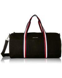 ec72ad70e Tommy Hilfiger Simon Canvas Duffel Bag in Natural for Men - Lyst