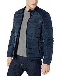 Marc New York Quinn Four Pocket Hooded Jacket - Blue