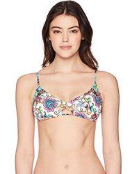 Nanette Lepore - Rosarito Enchantress Bikini Top - Lyst