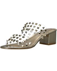 Katy Perry The Kenzie Heeled Sandal,gold,8.5 Medium Us - Metallic