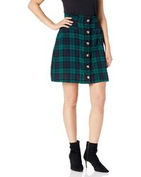 Volcom Untamed Feels High Waist Mini Skirt - Green