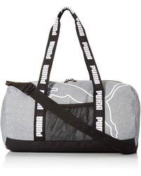 PUMA Barrel Duffel Bag - Black