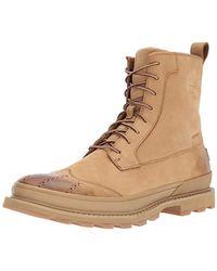 Sorel Madson Wingtip Boot Waterproof Oxford - Brown