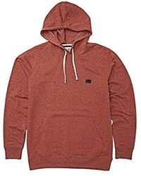 Billabong All Day Pullover Hoodie - Red