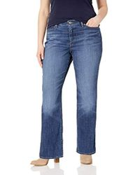 81834b68f39 Levi's 524 Too Superlow Bootcut Jean - Multiple Lengths Available (juniors)  in Blue - Lyst