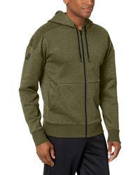 Peak Velocity Medium-weight Fleece Full-zip Loose-fit - Green