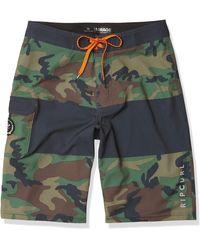 Rip Curl Mirage Sunrise Stretch Boardshorts - Green