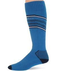 Columbia Erwachsene RCS908 Knee High Socks-Large Skisocken - Blau