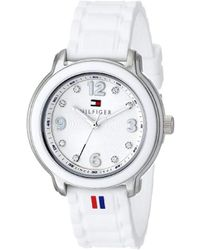 Tommy Hilfiger - 1781418 Crystal-accented Stainless Steel Watch - Lyst