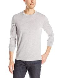 Theory - Riland New Sovereign Pullover Crew-neck Sweater - Lyst