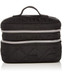 Vera Bradley Performance Twill Jewelry Train Case - Black