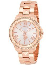 U.S. POLO ASSN. Usc40057 Two-tone Bracelet Watch - Metallic