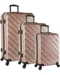 Nine West Ninewest Luggage 3 Piece Hardside Spinner Luggage Set - Multicolor