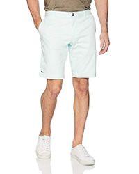 Lacoste - Slim Fit Chino Bermuda Shorts, Fh7422 - Lyst