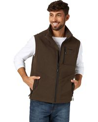 Wrangler Concealed Carry Stretch Trail Vest - Brown