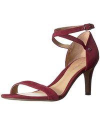 3b545a027f7 Lauren by Ralph Lauren Glinda Leather Dress Sandals in Black - Lyst