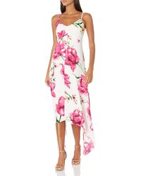 Laundry by Shelli Segal Printed Floral Maxi Dress - Multicolor